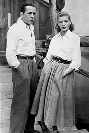 Gallery Pockets: Lauren Bacall and Humphrey Bogart