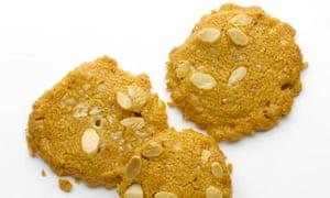 Chilli almond biscuits