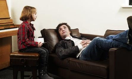Richard Hammond on the couch
