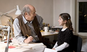 Quentin Blake with kid