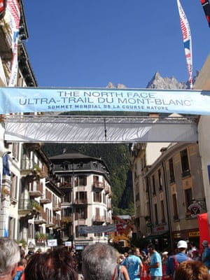 Race gallery: The start of the Ultra-Trail du Mont Blanc
