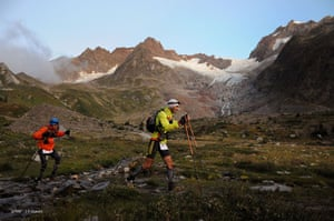Race gallery: Runners take part in the Ultra-Trail Mont Blanc