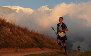 Race gallery: A runner on the Utlra-Trail Mont Blanc
