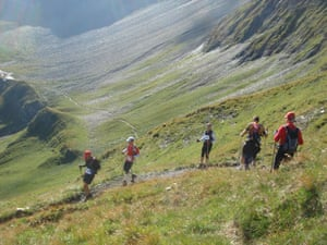 Race gallery: Runners on the Ultra-Trail Mont Blanc