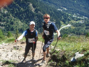 Race gallery: Cal and Blake running the Ultra-Trail Mont Blanc