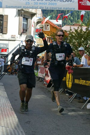 Race gallery: the finish line for the runners on the Ultra-Trail Mont Blanc