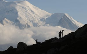 Race gallery: A runner on the Ultra-Trail Mont Blanc