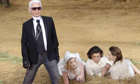 Karl Lagerfeld's threesome for Chanel