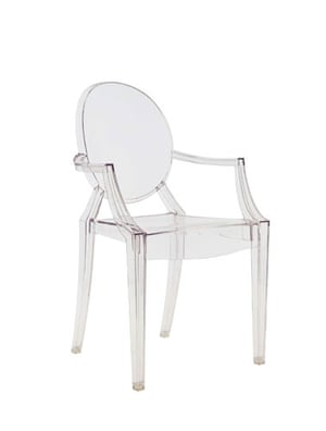 10 iconic chairs: Louis Ghost chair