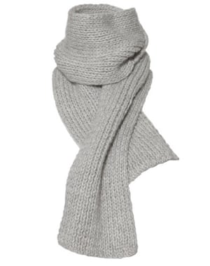 Ascension gallery: Hand-knitted scarf