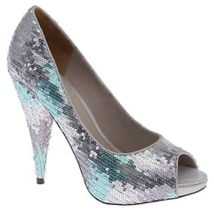 Shoes for under £100: Silver shoes