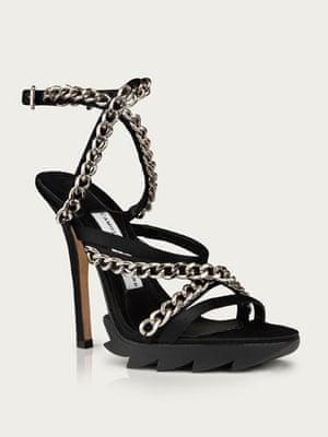 Shoes to blow the budget: Diamanté