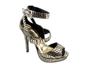 Shoes for under £50: Gold snakeskin 2