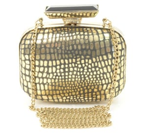 Bags to blow the budget: Gold clasp