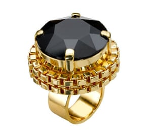 Rings: Black and gold