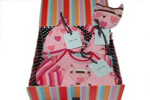 Gifts for babies: Christmas gifts for babies - Lilly and Sid box