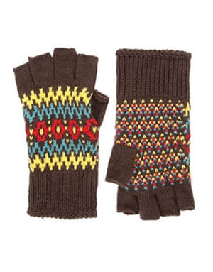 Christmas fashion under10: Asos fingerless gloves
