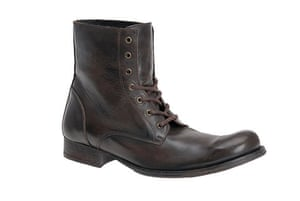 Xmas gifts mens fashion: Lace-up ankle boots by Aldo