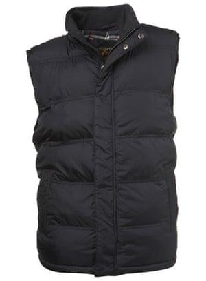 Xmas gifts mens fashion: Padded gilet by Burton
