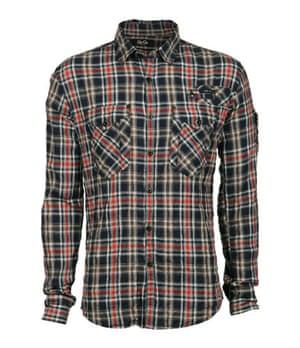 Xmas gifts mens fashion: Goi Goi Kraz checked shirt by Gio Goi