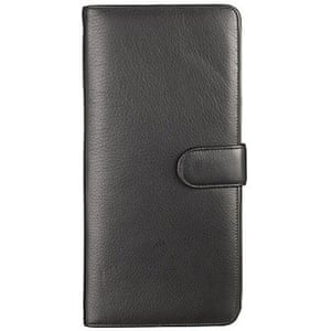 Xmas gifts mens fashion: Leather travel wallet by John Lewis