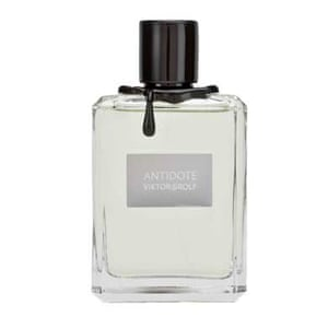 Xmas gifts mens grooming: Antidote eau de toilette by Viktor and Rolf