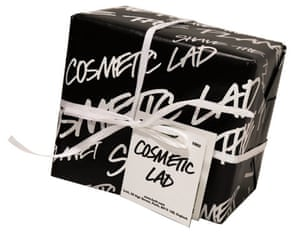 Xmas gifts mens grooming: Cosmetic lad gift box by Lush