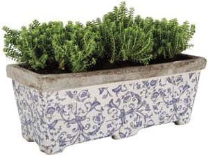Christmas gifts: Gardens: Aged ceramic planter