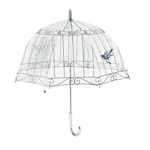 Xmas gifts MID fashion: Birdcage umbrella by Lulu Guinness