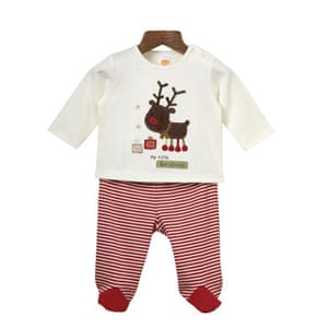Gifts for babies: Mini mode pyjamas