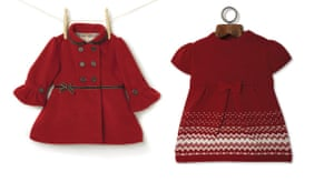 Gifts for babies: Girls coat and dress