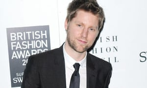Christopher Bailey at the British Fashion Awards 2009