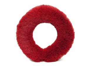 Christmas wreaths: Red wreath
