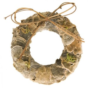 Christmas wreaths: Mushroom mini wreath