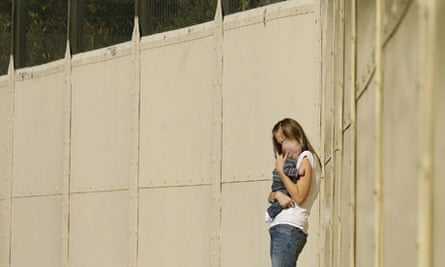 prison mum and baby