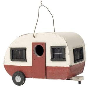 Worst Christmas gifts: Caravan birdhouse