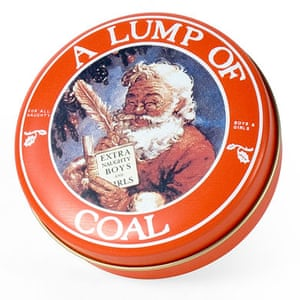 Worst Christmas gifts: Lump of coal