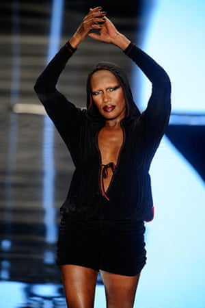 NY fashion week: weekend: Grace Jones