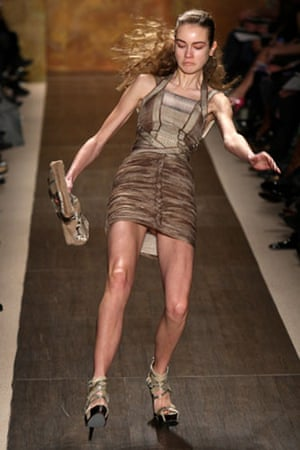 NY fashion week: weekend: Herve Leger