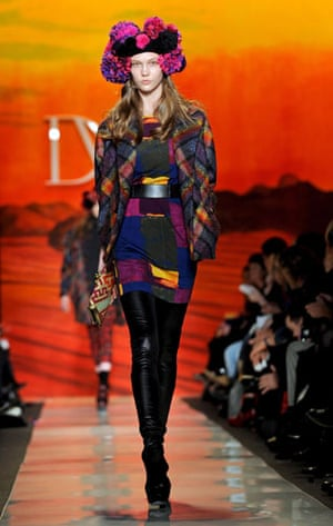 NY fashion week: weekend: Diane Von Furstenberg