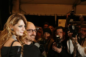 NY fashion week: weekend: Mischa Barton and designer Hassan