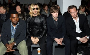 NY fashion week: weekend: Front row at Calvin Klein Menswear.