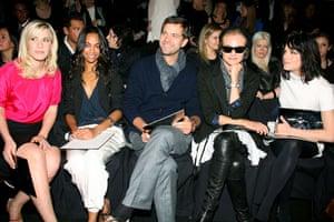 NY fashion week: Thursday: Natasha Bedingfield, Zoe Saldana, Joshua Jackson, Diane Kruger, Selma Blair