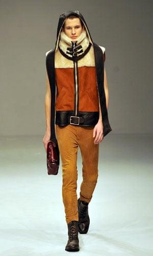 LFW: menswear: London Fashion Show - James Long