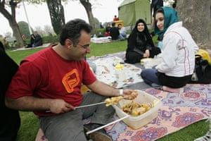 Iranian new year: Picnic
