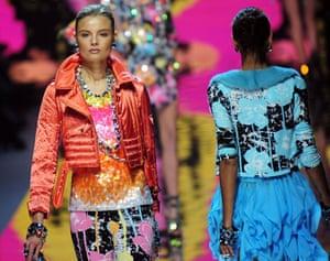 MFW: weekend roundup: Models wear Blumarine