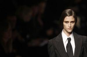 MFW: weekend roundup: A model wears Antonio Marras