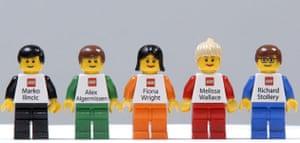 Lego: Lego business cards