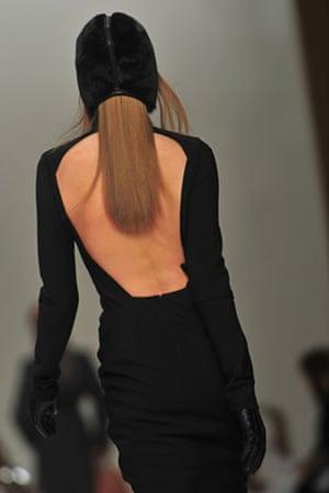 Milan Fashion Week: Model wearing Max Mara