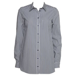 Hijab-friendly gallery: Striped shirt by Topshop